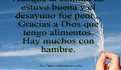 Recuerda decir Gracias a Dios - Reflexiones cristianas