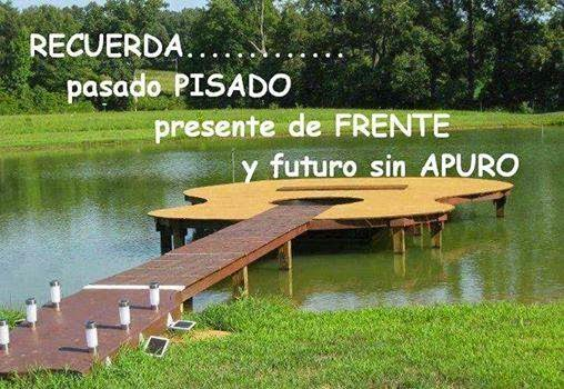 Frases de reflexión, pasado, presente, futuro.