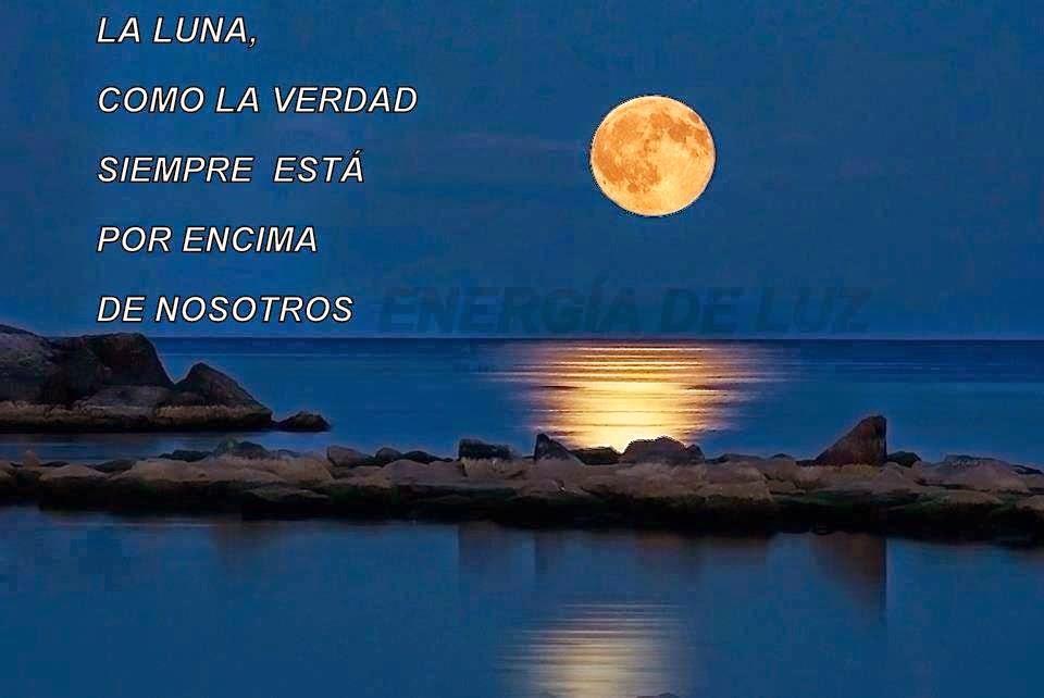 Frases de vida, luna, verdad, nosotros.