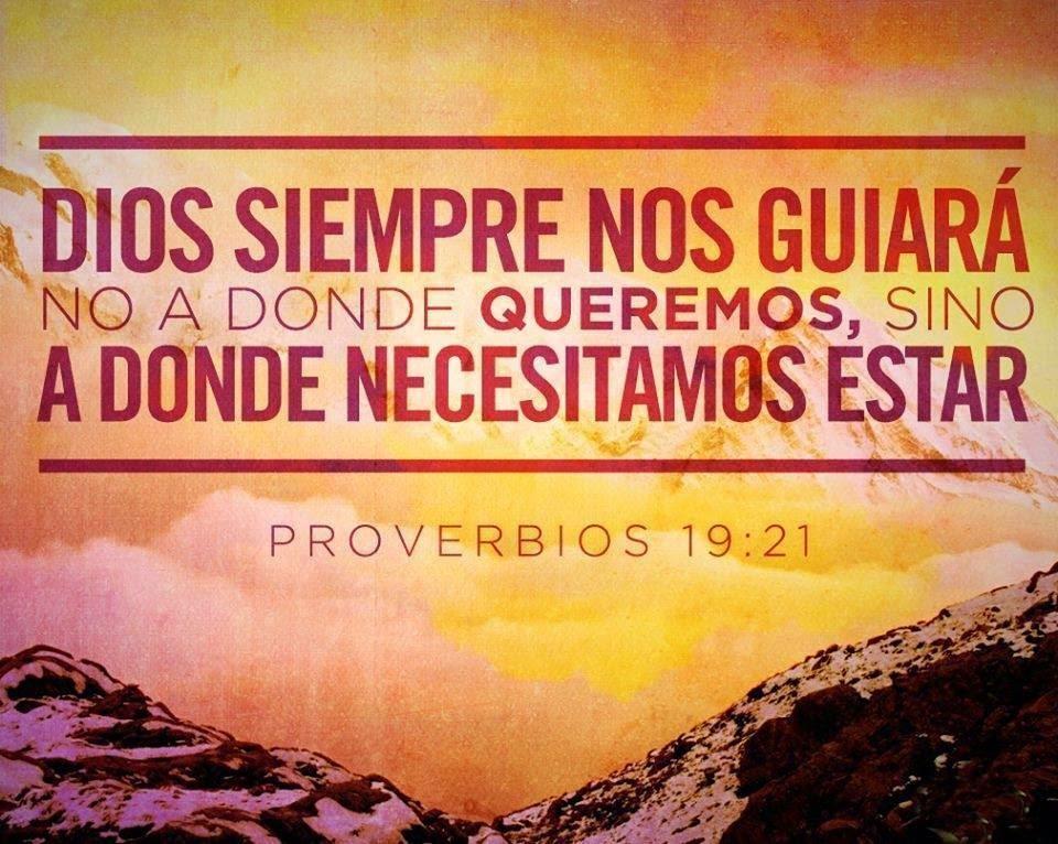 Imagen cristiana, Dios, guiará, queremos, necesitamos, estar.,
