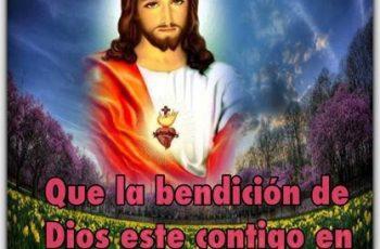 Que la bendición de Dios este contigo, buenos días