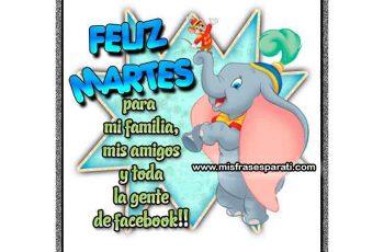 Feliz martes para mi gente linda de facebook - Frases en imágenes
