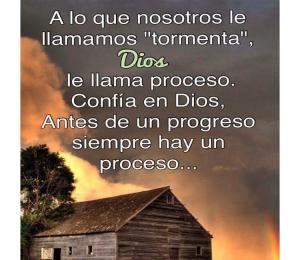 Confío en Dios
